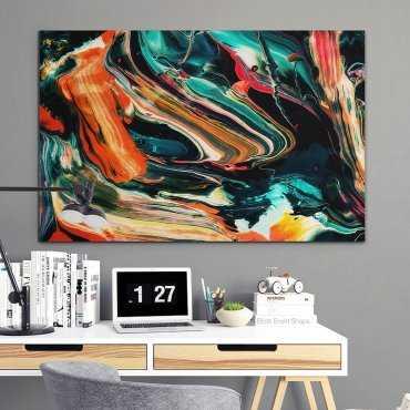 ABSTRACT ART - Modny obraz na ścianę