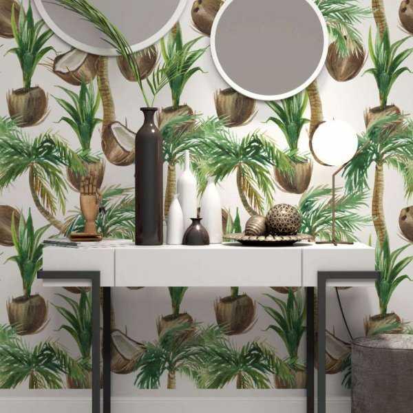 tapeta coconut design