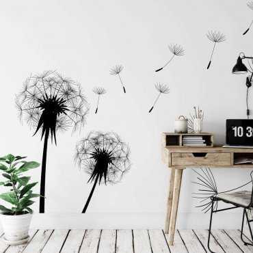 tapeta dandelion art