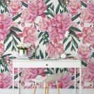 tapeta floral pink