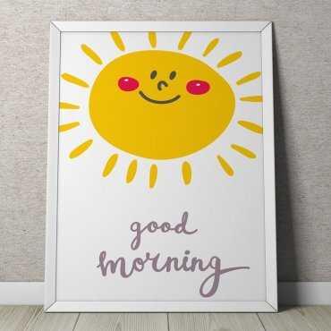 Good Morning - Plakat dla dzieci