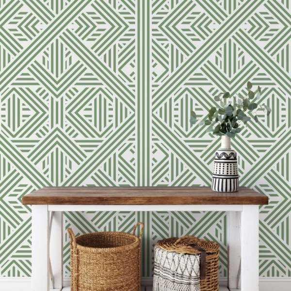 tapeta green maze