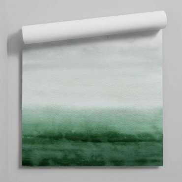 tapeta greenery ombre