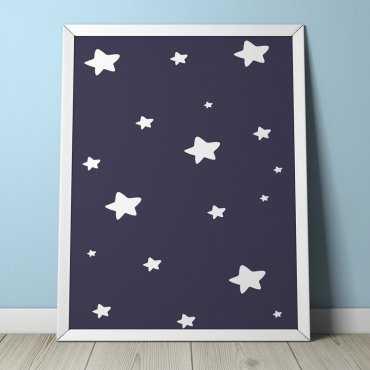 STARS - Plakat dla dzieci