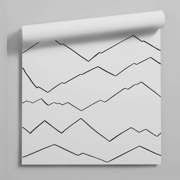tapeta minimal mountains