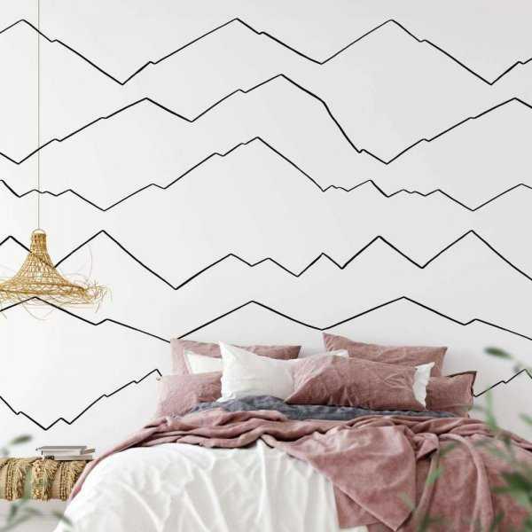 tapeta minimal mountains