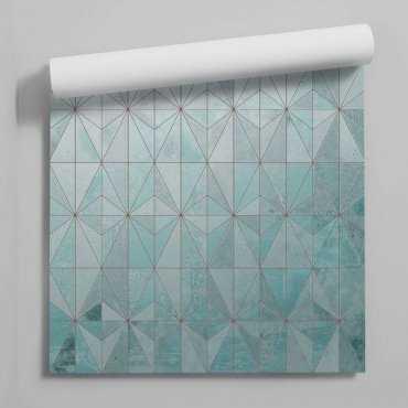 tapeta minty geometry
