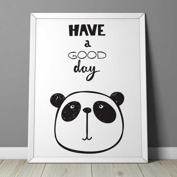 HAVE A GOOD DAY - Plakat dla dzieci
