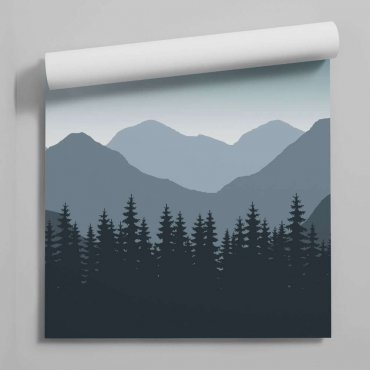 tapeta mountains perspective
