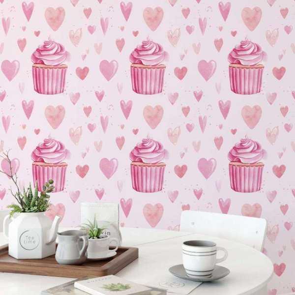 tapeta muffin love