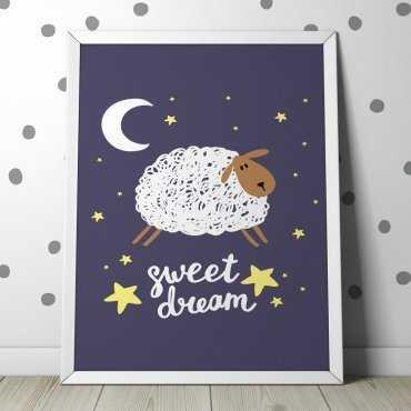 """OWIECZKA """"SWEET DREAM"""" - Plakat dla dzieci"""