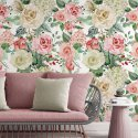 tapeta painty roses