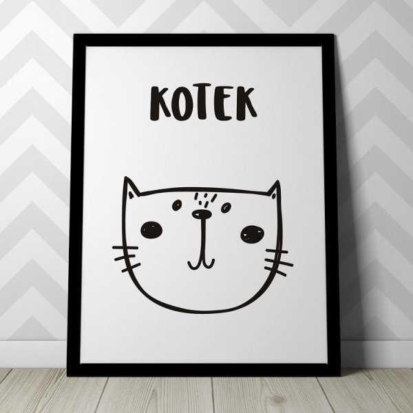 KOTEK - Plakat dla dzieci