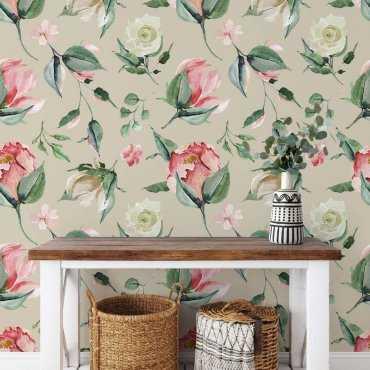 tapeta rosen wall