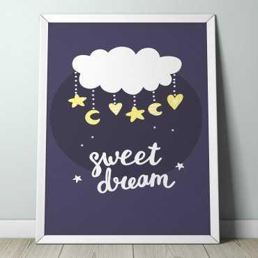 SWEET DREAM - Plakat dla dzieci