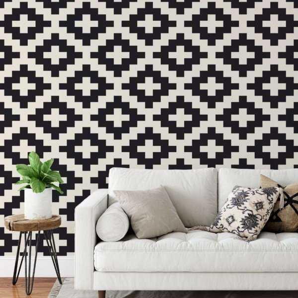 tapeta stairy pattern