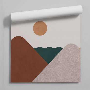 tapeta sunset of art