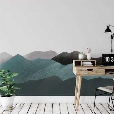 tapeta mountains are green