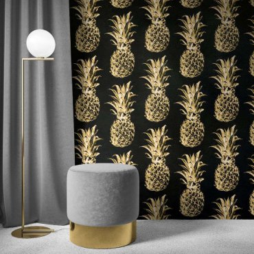 tapeta golden ananas