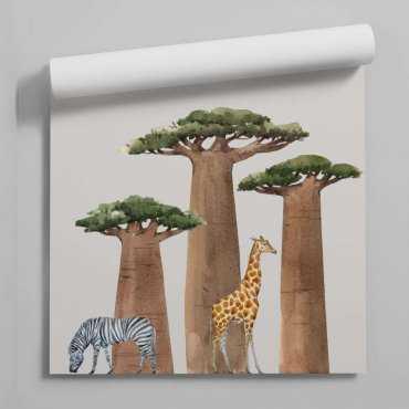 tapeta baobab friends