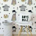 tapeta be brave little man