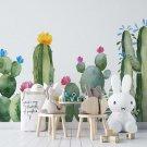 tapeta cactus interior
