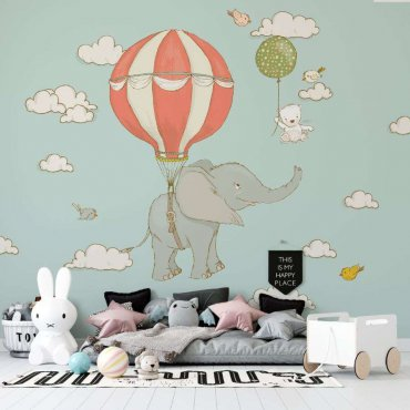 tapeta circus elephant