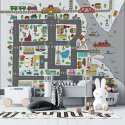 tapeta city streets map