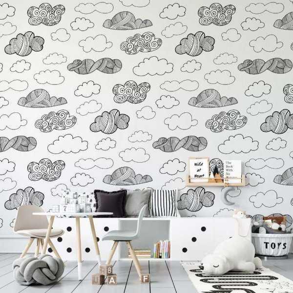 tapeta clouds of pattern
