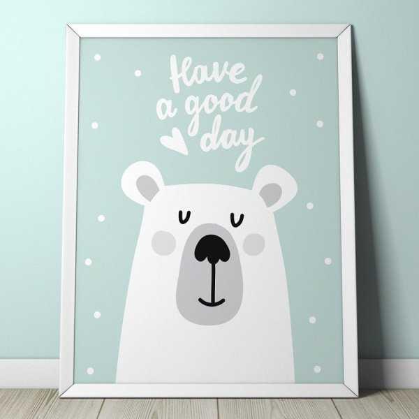 TEDDY BEAR - Plakat dla dzieci