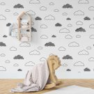 tapeta cloudy minimalism