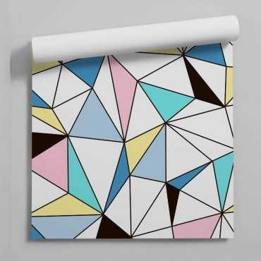 tapeta cristallic pastel