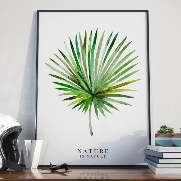 NATURE IS NATURE - Plakat w ramie