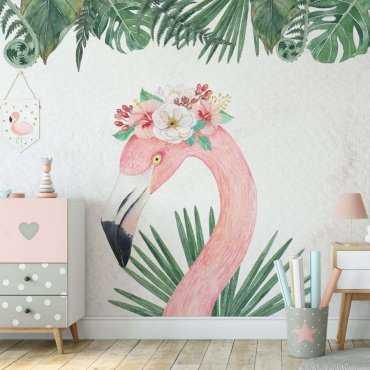 tapeta flamingo queen