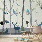 tapeta forest fauna