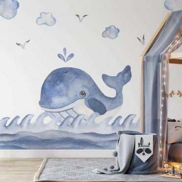 tapeta happy whale