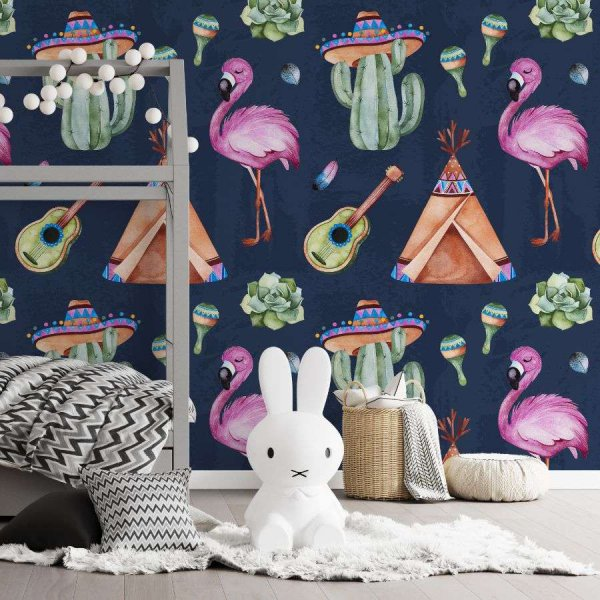 tapeta latino flamingo