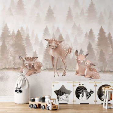 tapeta lovely deers