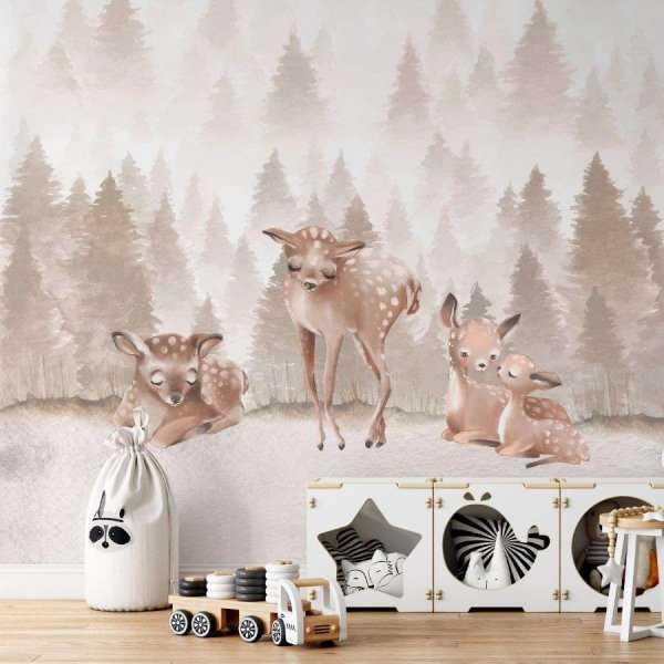 tapeta lovely deers