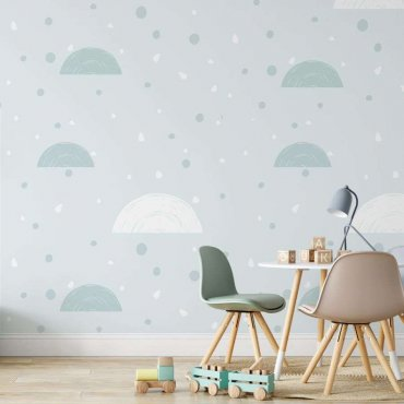 tapeta minty minimalism