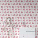 tapeta pink circles