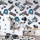 tapeta police design