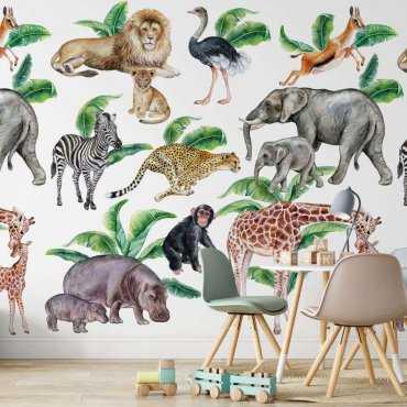 tapeta safari friends