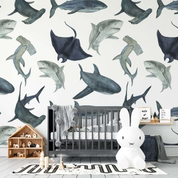 tapeta sharky world