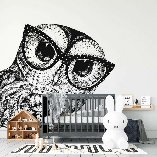 tapeta stylish owl