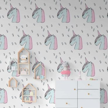 tapeta stylish unicorns