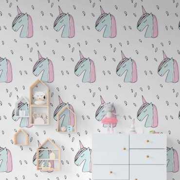 tapeta stylish unicorns