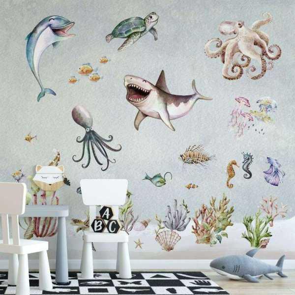 tapeta underwater art