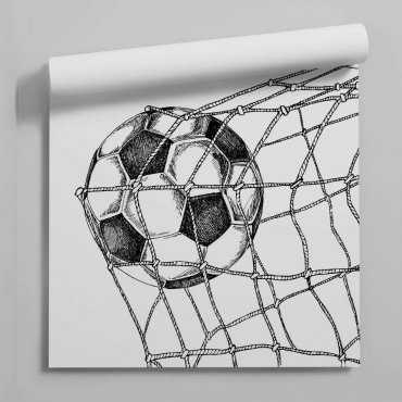 tapeta football goal