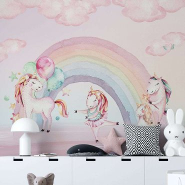 tapeta unicorn pink